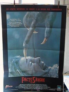 "Cartel película ""Pacto de Sangre"" 1988"