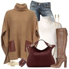 Camel, created by lbite1 on Polyvore