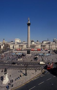 Top 10 London Attractions, from Trafalgar to the Tate: Trafalgar Square