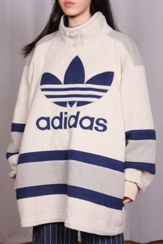 inspired her father's decision to name her Adidas. She couldn't resist picking up the modest sweater as a naughty memento. Sport Fashion, Fashion Week, High Fashion, Fashion Outfits, Adidas Fashion, Mode Adidas, Adidas Zip Up, Sporty Chic, Sporty Style