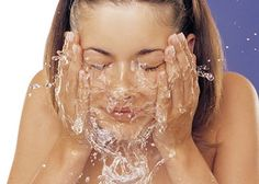 Daily routine..wash and clean ur face ;)