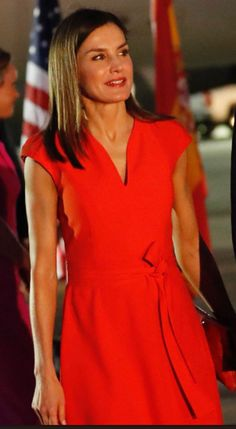 Queen Letizia arrived in US for State Visit