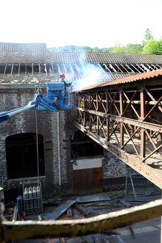 Réhabilitation du site Fonderie Felon et Lange à Huy #spaque #fricheindustrielle #brownfields #remediation #rehabilitation