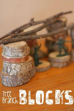 Tree Branch Blocks:  So fun!