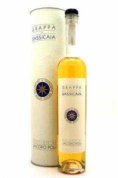 Grappa di Sassicaia Riserva distillata da Jacopo Poli Tenuta San Guido