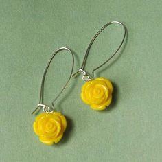 Long yellow roses   Billy Rose   Handgemaakte juwelen