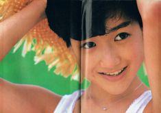 岡田有希子 DUNK記事1985年9月号 ちょっと元気のないユッコ