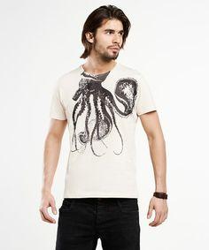 Octopus T-shirt SELVA por SelvaStore en Etsy