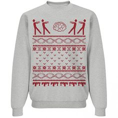 Zombie Ugly Christmas Holiday Sweaters – Ugly Sweaters By City