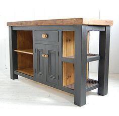 Reclaimed Wood Kitchen Island Cupboard