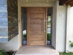 Home Door Design, Front Door Design, House Design, House Entrance, Entrance Doors, Spanish Colonial Homes, Farm Shed, Contemporary Front Doors, Architect Design