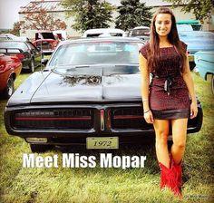 Meet Miss Mopar- Not Your Typical Car Guy.