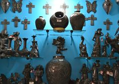 Black pottery of Oaxaca, Mexico