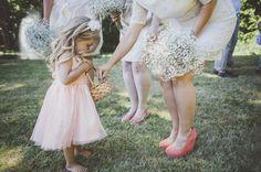 Artsy Victoria Garden Wedding