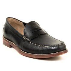 J Shoes Farthing - This slip on is constructed with a matte leather upper and leather sole with rubber inserts for traction and all together wear and comfort. Perfect to be paired with ankle skimming denim or shorts for a more casual, laid-back look.