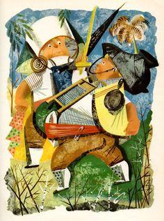 Leonard Weisgards Stunning 1949 Alice in Wonderland Illustrations | Brain Pickings