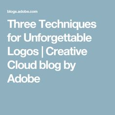 We all have our favorite logos. Some for their simplicity, some for their ingenuity, some for the recognisability — and the best logos are all of the above. But designi. Good To Know, Adobe, Wordpress, Branding, Templates, Creative, Illustrator, Cloud, Logos