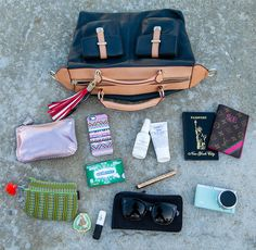 Everything a style blogger needs - take a look at the contens of Sarah Eichhorn 's limited-edition bag.... Support the cause at http://bit.ly/1vw8NbX