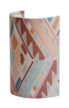 Ellipse Lampshades from the A Rum Fellow Lampshade Collection, exclusive to Copper & Silk. Handmade Lampshades, Light Decorations, Rum, Collaboration, Copper, Silk, Lighting, Fabric, How To Make
