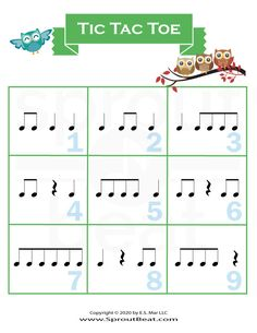 Music Do, Piano Music, Music And The Brain, Music Lessons For Kids, Music Worksheets, Teachers Pet, Partition, Tic Tac Toe, Music Classroom