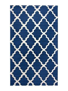 Slightly prep/ boho bold   Marrakesh Hand-Hooked Rug by nuLOOM on Gilt Home