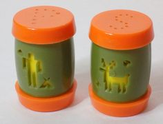 1970s Native American Salt & Pepper Shakers by TimeEnoughAtLast