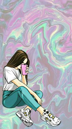 awesome vaporwave iphone wallpaper Source by Emoji Wallpaper, Cute Wallpaper Backgrounds, Tumblr Wallpaper, Girl Wallpaper, Aesthetic Iphone Wallpaper, Wallpaper Quotes, Aesthetic Wallpapers, Wallpapers En Hd, Dont Touch My Phone Wallpapers