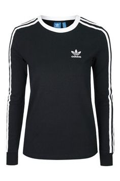 3 Stripes Long Sleeve Top