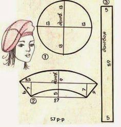 We sew easily and simply of drape . Sewing Hacks, Sewing Crafts, Sewing Projects, Hat Patterns To Sew, Sewing Patterns, Sewing Clothes, Diy Clothes, Hat Tutorial, Turbans