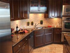 Tropical Brown Granite Countertop