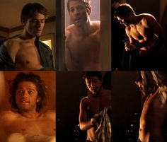 brazilianminions:  This is a shirtless Misha Collins appreciation post. Now I'm sure I'm preganant. mishasminions:  FAVORITE MISHA OUTFITS (...