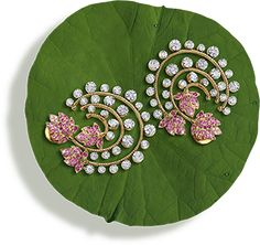 Tanishq Jewellery online-Niloufer collection-earring-6