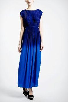 Mixed Modes Column Dress