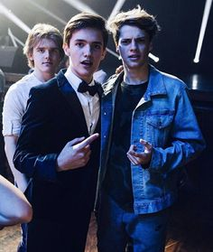 Jace Norman at Noah Urrea's Epic Sweet Sixteen! Happy Belated Belated to the Favorite Up and-Coming Singer Noah Urrea! The Super Cute Entertainer Celebrated His Sweet Sixteen with All of His Closest Friends on Sunday (March at the Avalon in Hollywood Henry Danger Nickelodeon, Henry Danger Jace Norman, Norman Love, Noah Urrea, Cameron Boyce, Mystery Novels, Disney Beauty And The Beast, In Hollywood, Cute Boys