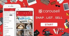 Carousell is a simple way to sell the clutter in your life and find great deals to save you cash! List something for sale in 30 secs and buy what you need in a chat.