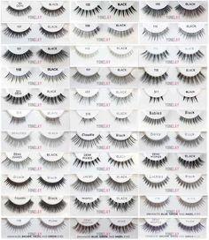 eb8cae1e7e2 Pick Any 10 Pairs of Ardell Professional Natural Invisibands False  Eyelashes. Ardell eyelashes are manufactured in Indonesia, China, and/or  Sri Lanka.