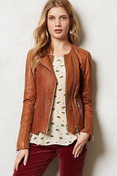 Sylvana Leather Moto Jacket #anthropologie #anthrofave