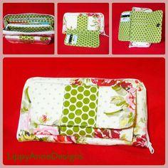 Eloise Wallet - Swoon Sewing Patterns / patron de cartera, de pago