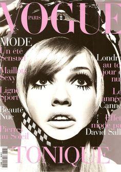 Vogue Paris June/July 1995: Karen Mulder by Satoshi Saikusa