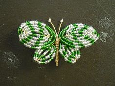 Mourning Rae: French-Beaded Butterfly Project