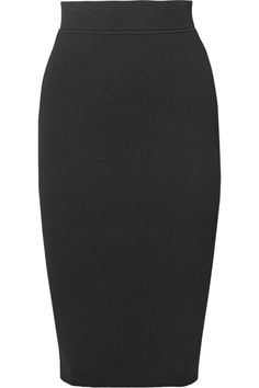 Michael Kors Collection | Ribbed stretch-knit pencil skirt | NET-A-PORTER.COM
