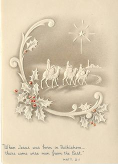 Vintage Greeting Card - Christmas by takeabreak, via Flickr