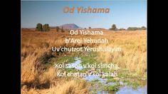 Od Yishama-עוד ישמע