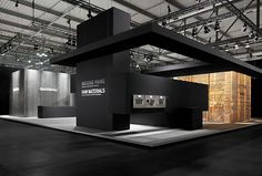 Gaggenau stand at EUROCUCINA 2012 by Milan exhibit design. Inspiration for an Exhibition. Exhibition Room, Exhibition Stall, Exhibition Stand Design, Exhibition Display, Exhibition Ideas, Trade Show Design, Display Design, Web Banner Design, Exibition Design