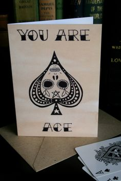 Image of 'You are Ace.'