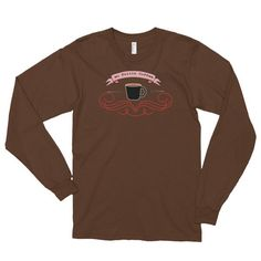 No Frills Coffee - Long Sleeve Unisex T-Shirt For Coffee Lovers