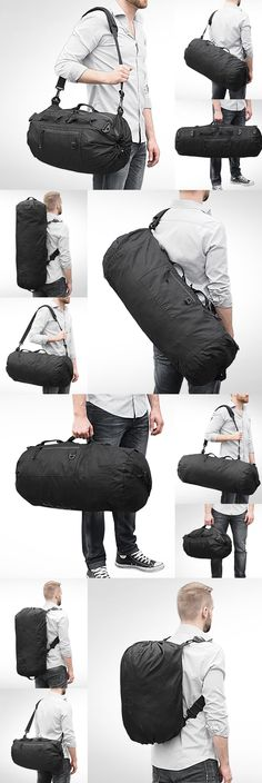 This convertible bag is so functional that it is the only bag and the last bag you will ever need.  TAB - The Adjustable Bag