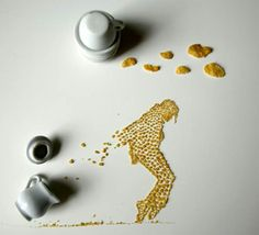 17 Corn Flakes Cereal Art work
