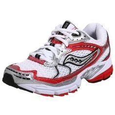 Saucony Women's ProGrid Ride Running Shoe,White/Red,9 M (Apparel) http://www.amazon.com/dp/B0017W8V5Q/?tag=pindemons-20 B0017W8V5Q