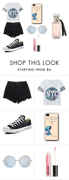"""Untitled #72"" by karenrodriguez-iv on Polyvore featuring T By Alexander Wang, Aéropostale, Converse, H&M, women's clothing, women's fashion, women, female, woman and misses"